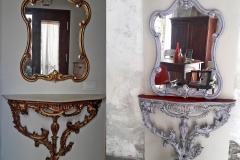 console e specchio bef aft