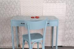 scrivania e sedia baby
