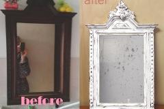 specchio shabby chic