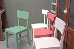 varie sedie colore