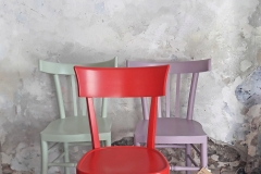 sedie varie colore