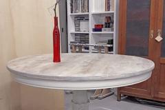 tavolo rotondo shabby chic